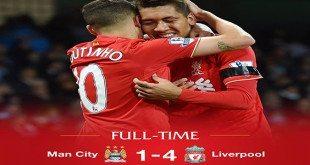 ליברפול מנצ'סטר סיטי 4-1