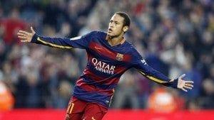 "Credit to ""FC Barcelona"" Facebook page ניימאר. עושה כבוד למכבי..."