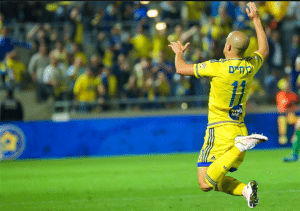 "Credit to ""Maccabi Tel Aviv FC"" Facebook page"