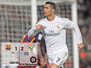 """Credit to """"Real Madrid C.F"""".Facebook page"""