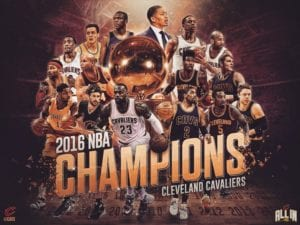 """Credit to """"Cleveland Cavaliers"""" Facebook page"""