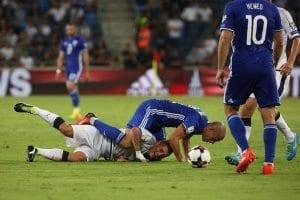 2 נבחרת ישראל נבחרת איטליה מוקדמות מונדיאל 2018