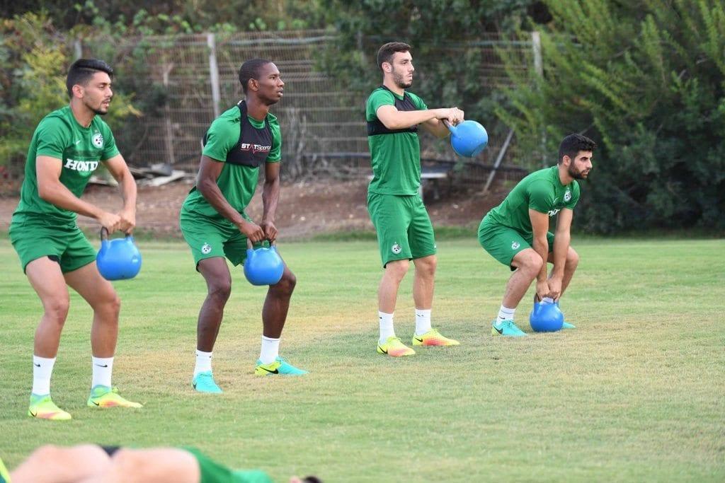 מכבי חיפה אימון