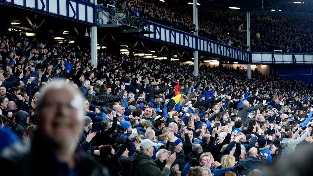 Everton Crowd