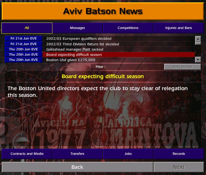 רקע מהליגה החמישית לליגת האלופות - עונה 2