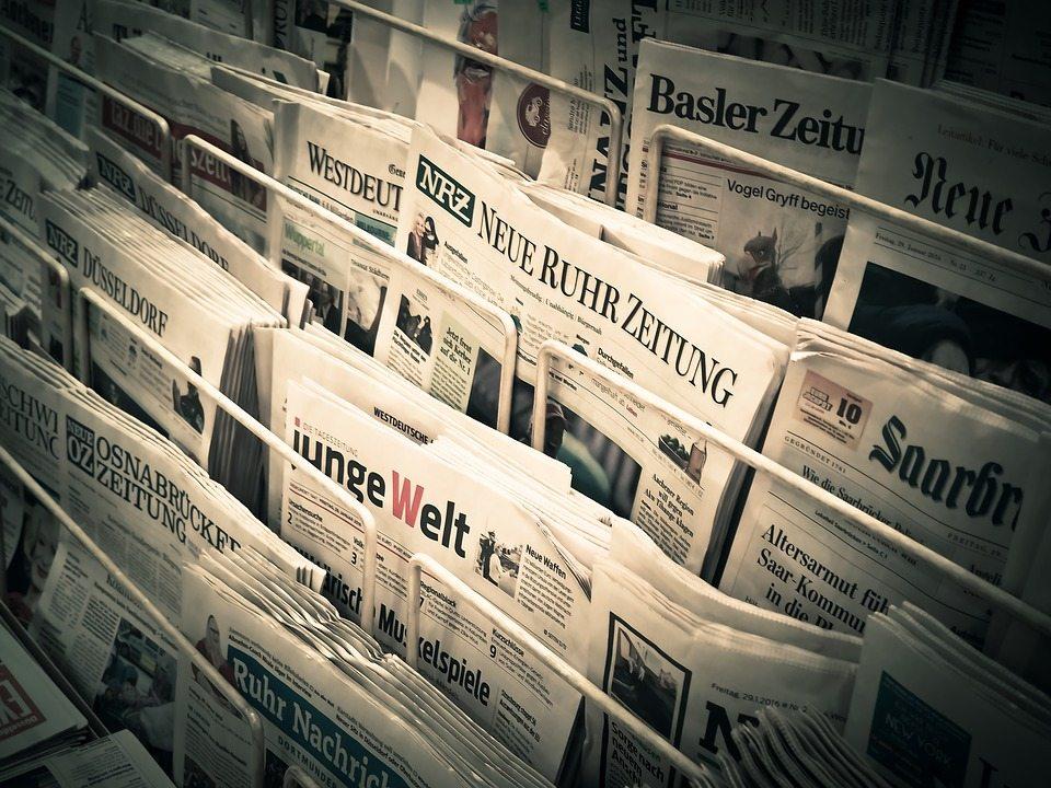 newspapers, עיתונים, תקשורת
