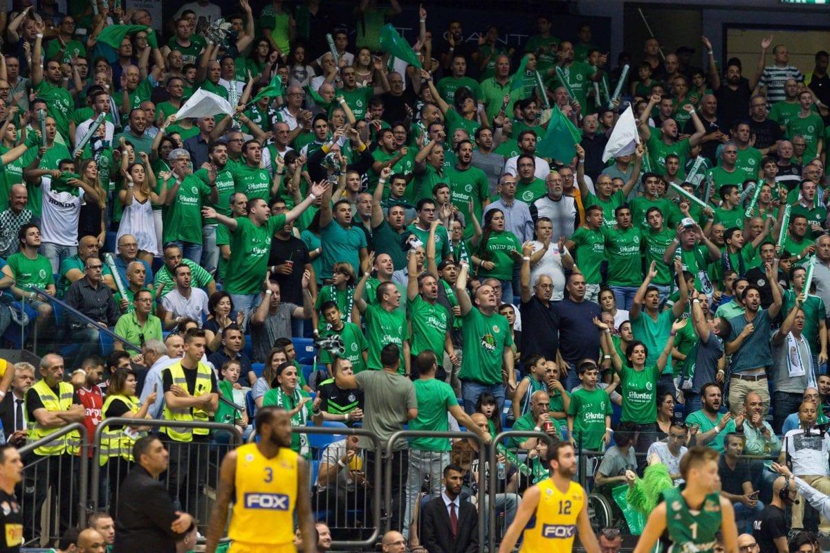 קהל מנכבי חיפה כדורסל