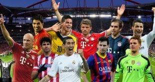 שחקני הליגות המובילות באירופה