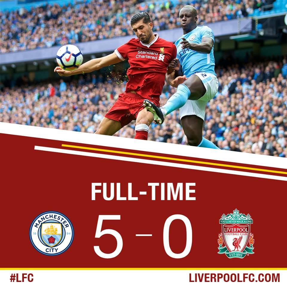 ליברפול מנצ'סטר סיטי 5-0