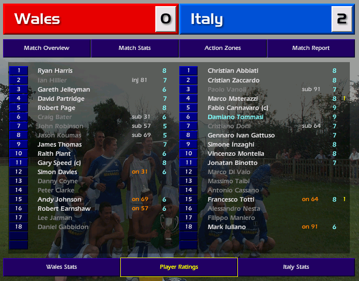 גמר איטליה המסע של נבחרת פורטוגל פרק 2