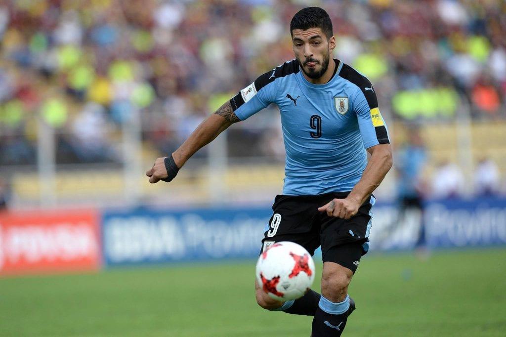 סוארז נבחרת אורוגאיי