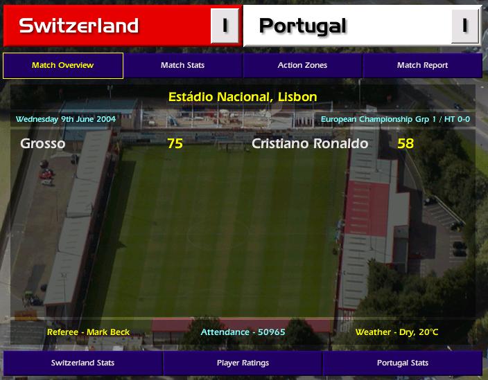 שוויץ המסע של נבחרת פורטוגל פרק 2
