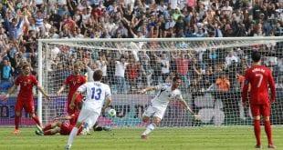 תומר חמד נבחרת ישראל נגד פורטוגל
