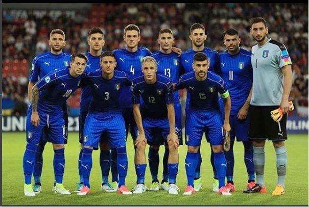 נבחרת איטליה ביורו הצעירות 2017