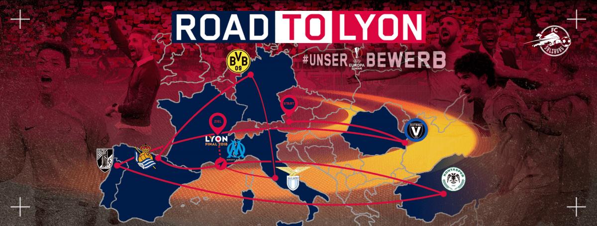 הדרך של זלצבורג לגמר הליגה האירופאית בליון
