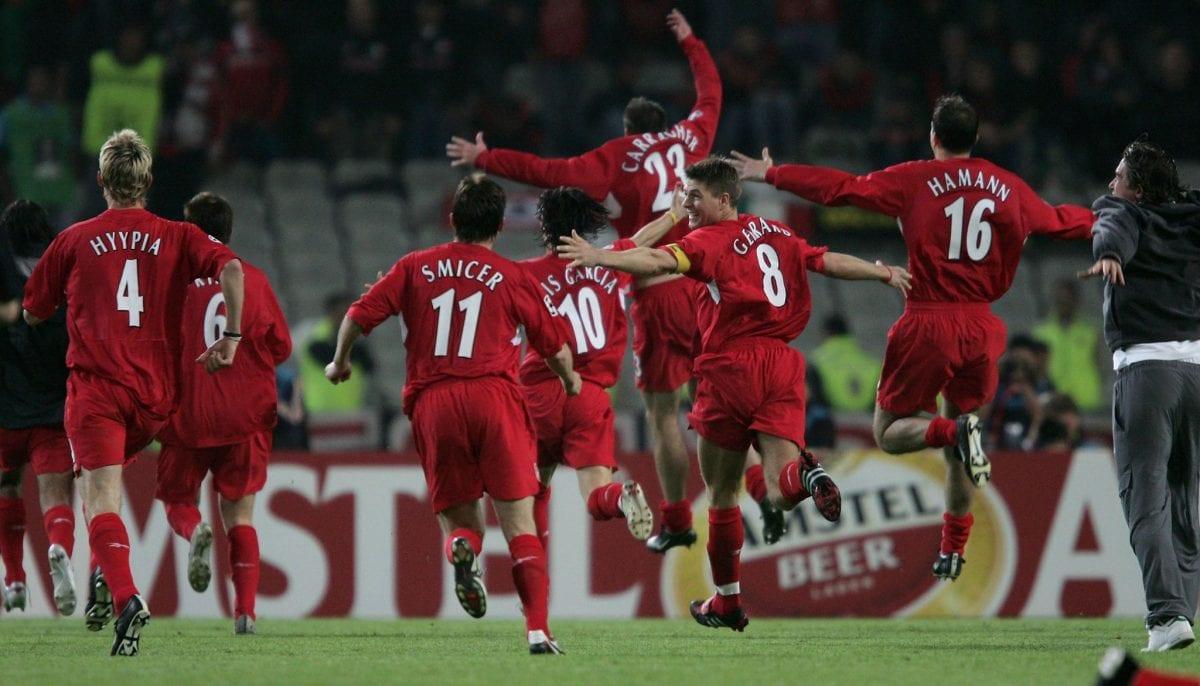 ליברפול, גמר 2005, ליגת האלופות
