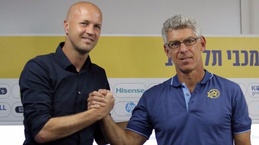 מיץ' גולדהאר מכריז על ג'ורדי קרויף כמאמנה החדש של מכבי תא (קרדיט Jordi Cruyff Twitter Page)