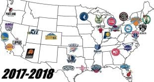 NBA map 18-18