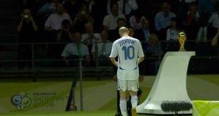 זידאן מורחק צרפת 2006