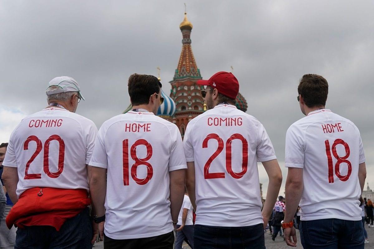 אוהדים אנגליה, coming home