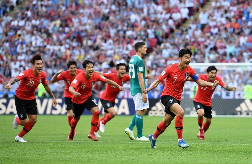 דרום קוריאה מנצחת את גרמניה