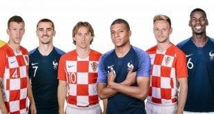 צרפת קרואטיה, גמר המונדיאל