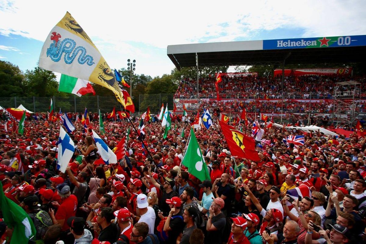הקהל במרוץ מונצה, פורמולה 1