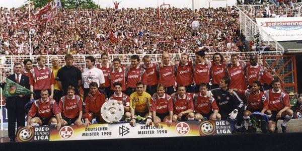 קייזרסלאוטרן אליפות 1998