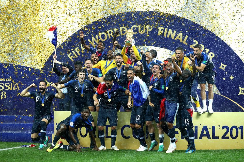 נבחרת צרפת, מונדיאל 2018