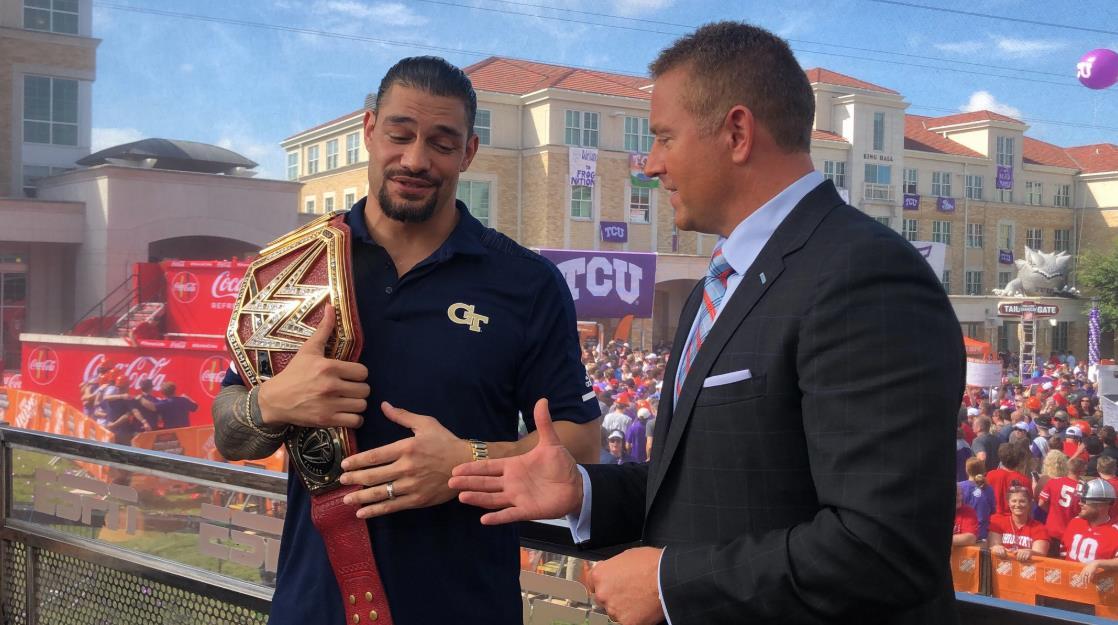 רומן ריינס, WWE