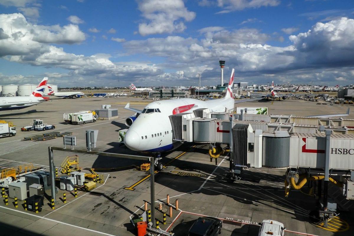 שדה התעופה בלונדון