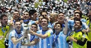 Argentina world champions futsal