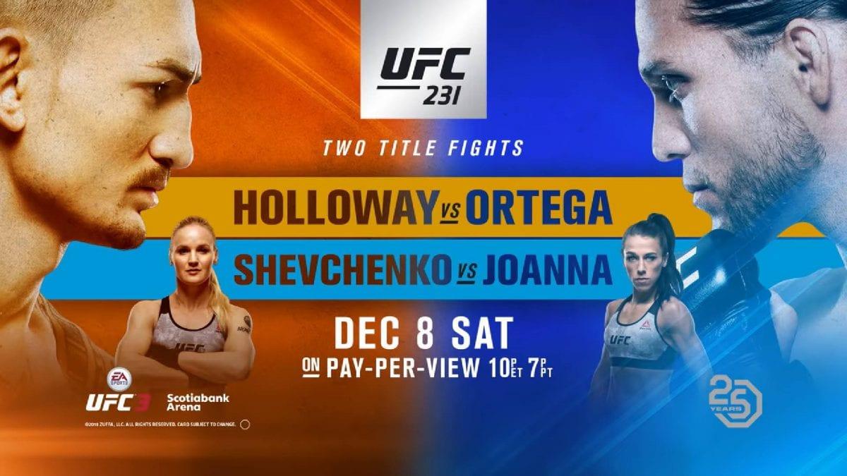 UFC 231