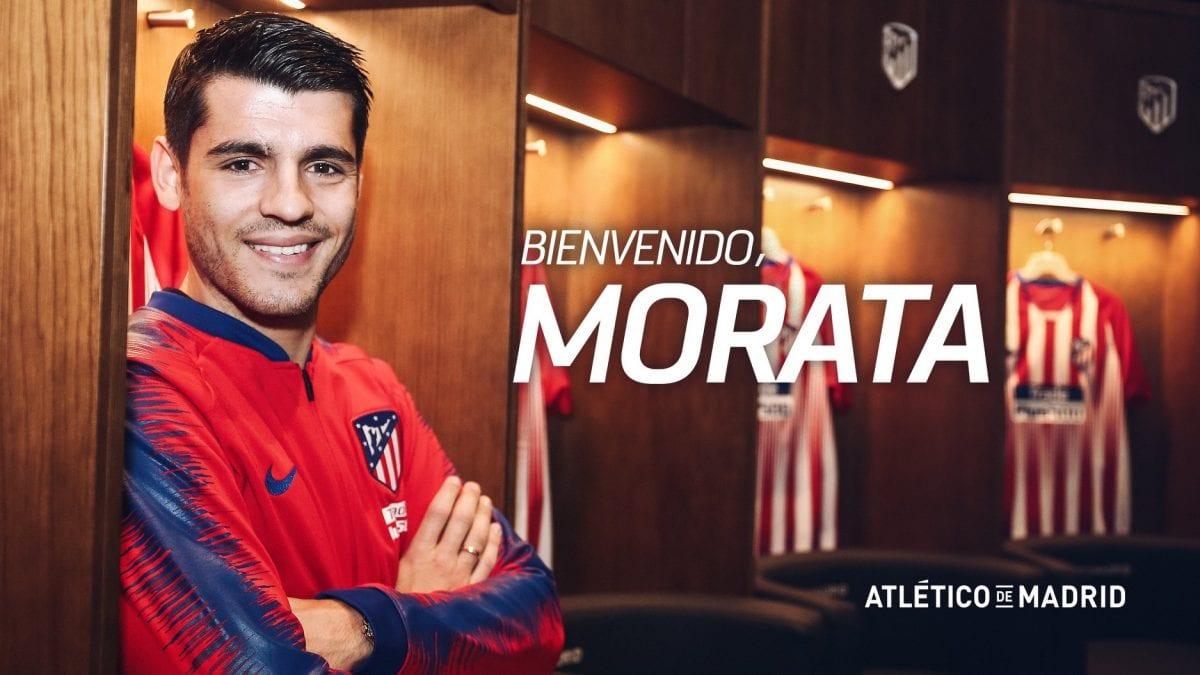 אלברו מוראטה, אתלטיקו מדריד