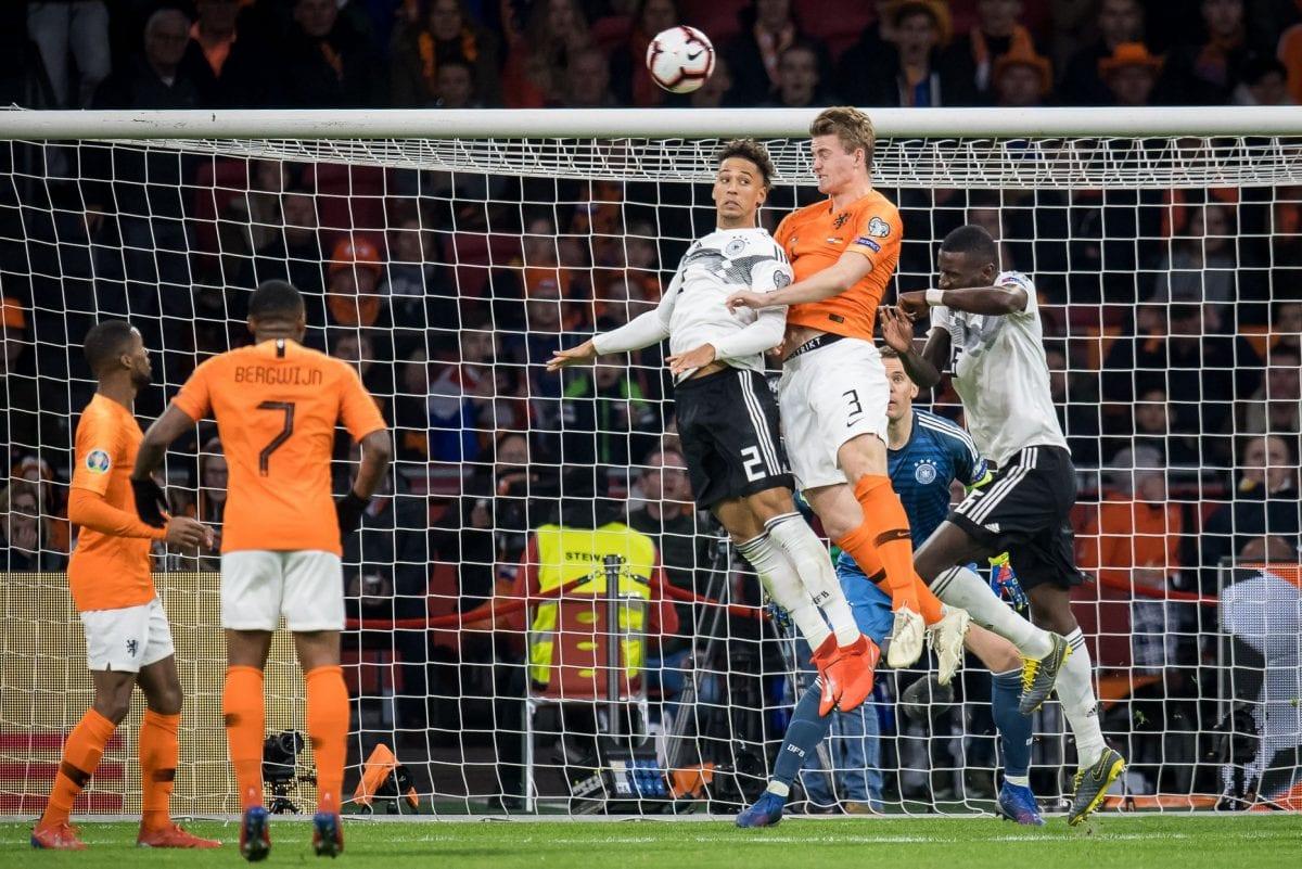 נבחרת הולנד, נבחרת גרמניה