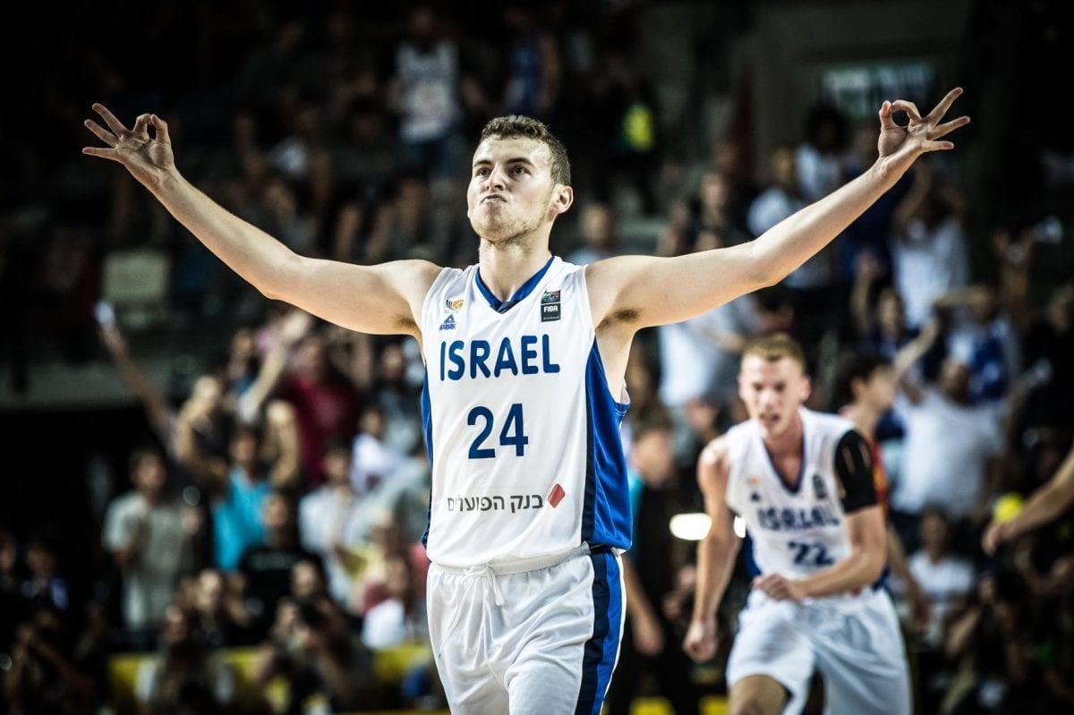 אלבר, נבחרת ישראל כדורסל
