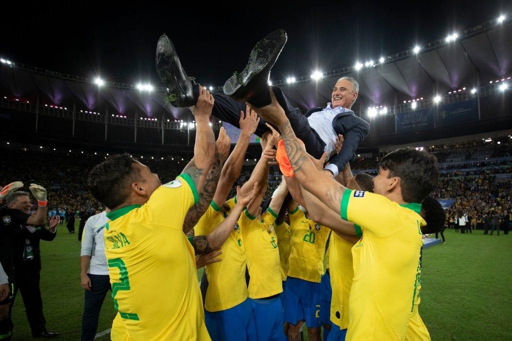 נבחרת ברזיל זוכת קופה אמריקה 2019 - 2