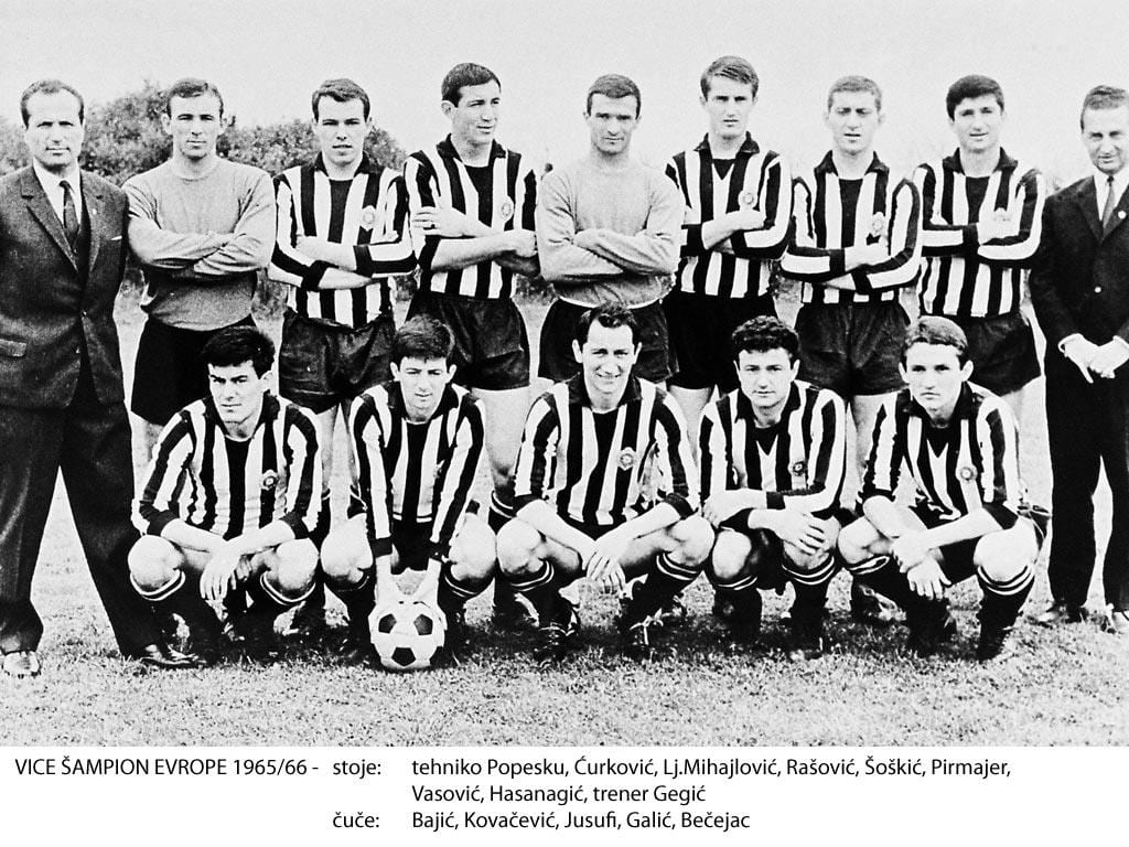 פרטיזן בלגרד ליגת האלופות 1966