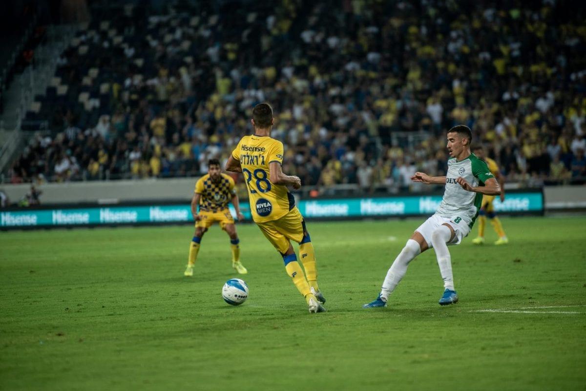 מכבי חיפה מכבי תל אביב ג'ארלדש חזיזה