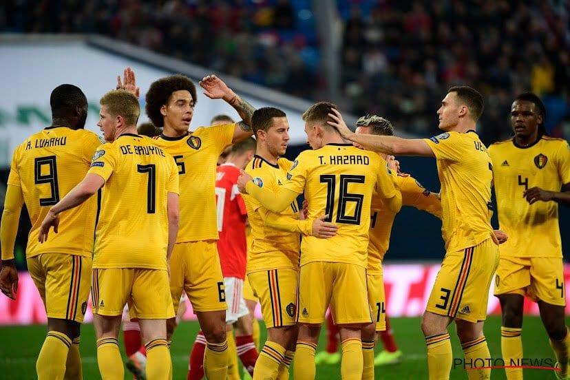 נבחרת בלגיה, מתוך הטוויטר הרשמי של Belgian Red Devils.