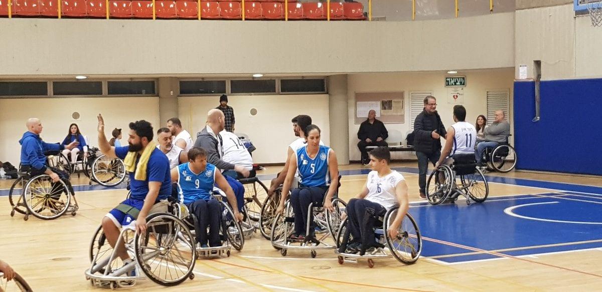 בית הלוחם, כדורסל כסאות גלגלים