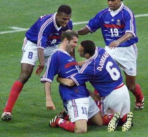 נבחרת צרפת במונדיאל 1998