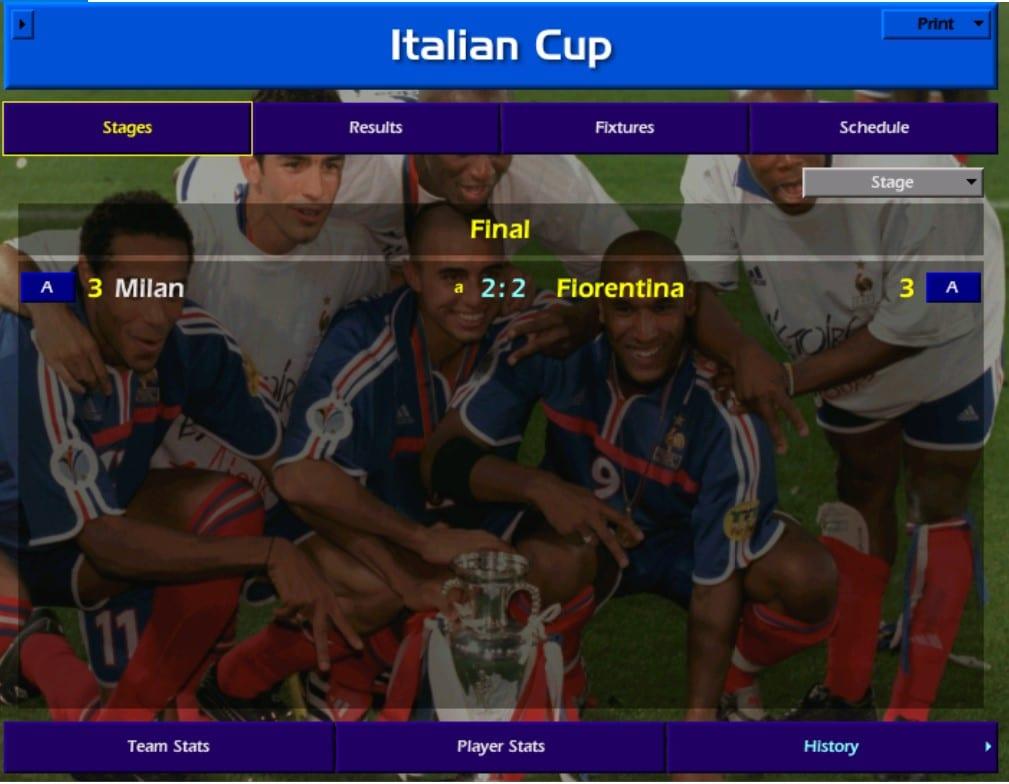 פיורנטינה גמר גביע איטלקי