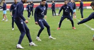 אימון נבחרת ישראל. הם יכולים להתאמן