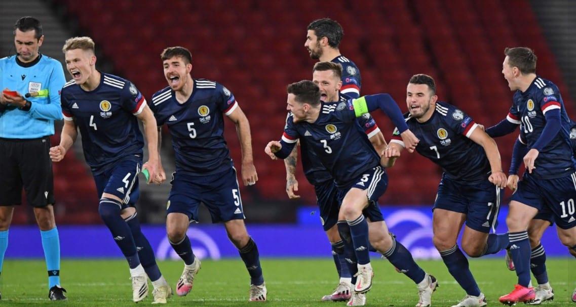 נבחרת סקוטלנד, פנדלים