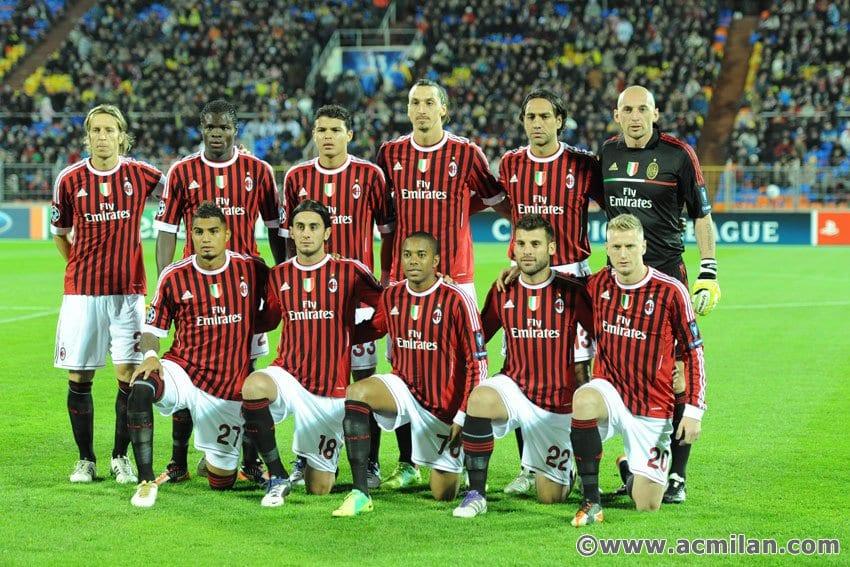 מילאן 2011-2012