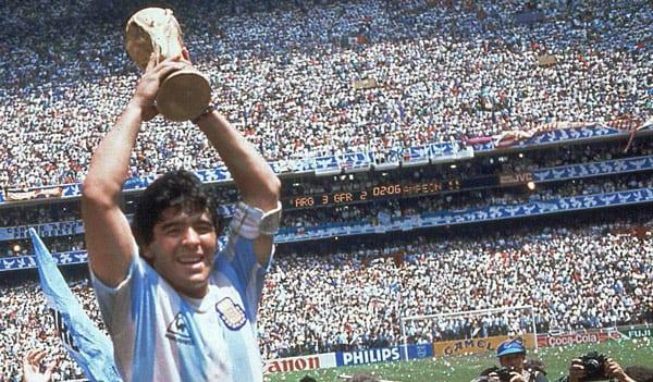 דייגו מראדונה, גביע עולמי 86, ארגנטינה