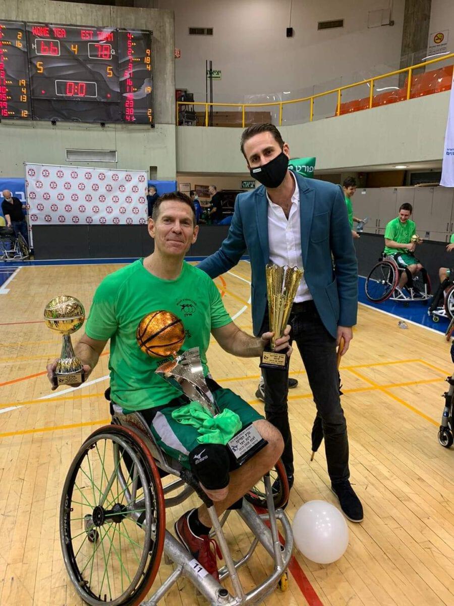 גמר גביע כדורסל נכים 2020